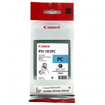 Originale Canon 0887B001AA Serbatoio inchiostro PFI-101PC ciano foto