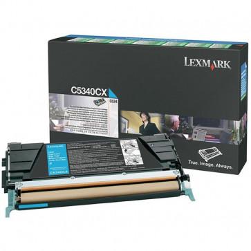 Originale Lexmark C5340CX Toner return program ciano