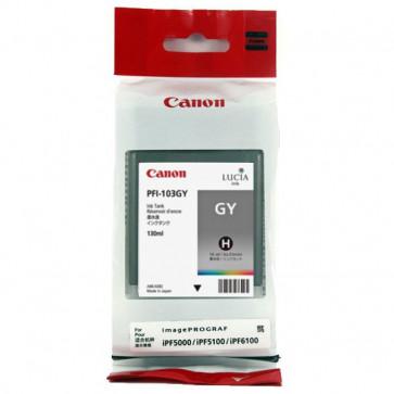 Originale Canon 0892B001AA Serbatoio inchiostro PFI-101GY grigio