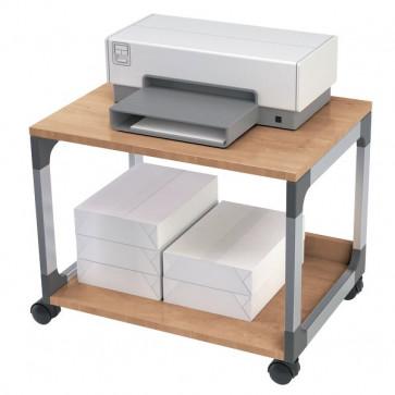 Carrello portastampante Durable argento metallizzato/faggio 60x43,2x47,7 cm 2 3710-124