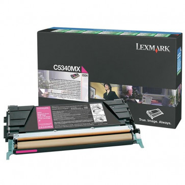 Originale Lexmark C5340MX Toner alta capacità return program magenta