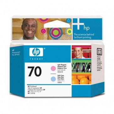Originale HP C9405A Testina di stampa 70 ciano chiaro +magenta