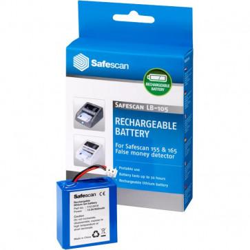 Batteria per rilevatore banconote false SafeScan - nero 112-0410