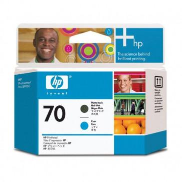 Originale HP C9404A Testina di stampa 70 nero opaco +ciano