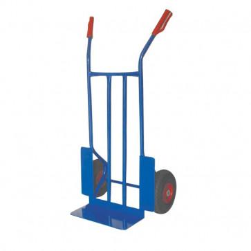 Carrello portacasse con ruote pneumatiche Serena Group blu 57x46x116 cm 300 kg HT 300