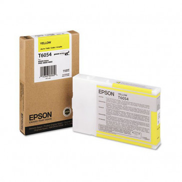 Originale Epson C13T605400 Cartuccia inkjet ink pigmentato ULTRACHROME K3 T6054 giallo