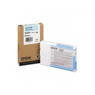 Originale Epson C13T605500 Cartuccia inkjet ink pigmentato ULTRACHROME K3 T6055 ciano chiaro