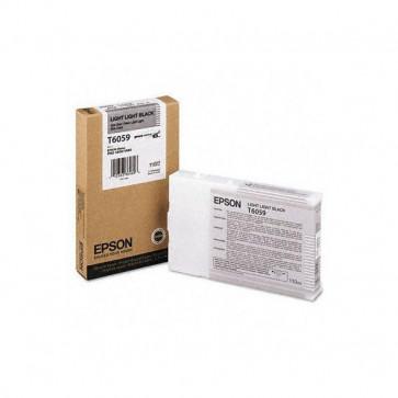 Originale Epson C13T605900 Cartuccia inkjet ink pigmentato ULTRACHROME K3 T6059 nero chiaro