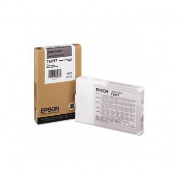 Originale Epson C13T605700 Cartuccia inkjet ink pigmentato ULTRACHROME K3 T6057 nero chiaro
