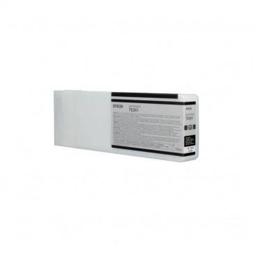 Orig. Epson C13T636100 Cartuccia inkjet alta cap. ink pigmentato ULTRACHROME HDR T6361 nero fotografico