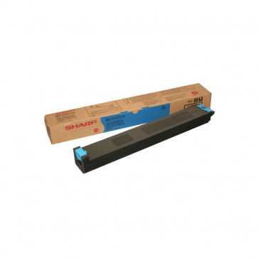 Originale Sharp MX27GTCA Toner ciano