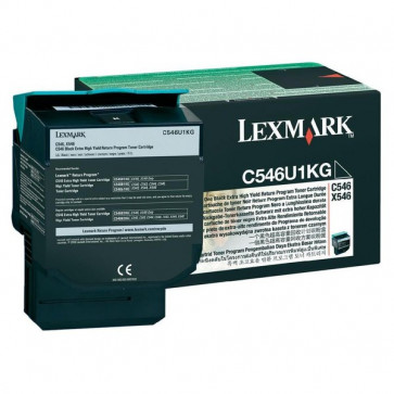 Originale Lexmark C546U1KG Toner altissima resa return program nero