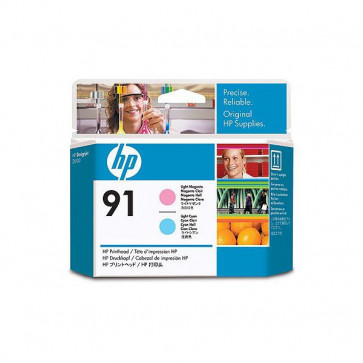 Originale HP C9462A Testina di stampa 91 magenta chiaro +ciano