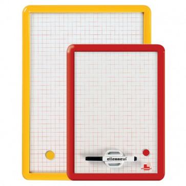Lavagnette magnetiche Arda quadrettato 49x36cm assortito 330Q