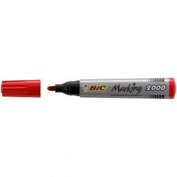Permanent Marker 2000 Bic rosso tonda 2,5 mm 8209133 (conf.12)
