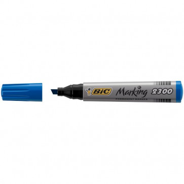 Permanent Marker 2300 Bic blu scalpello 3-5,5 mm 8209253 (conf.12)