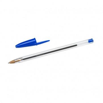 Penna a sfera Cristal® Bic Medium Classic blu 1 mm 8373609 (conf.50)