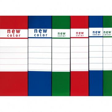 Scatole portaprogetti New Color Brefiocart 4 cm verde 020E7005.VE
