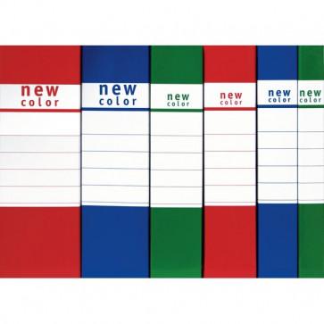 Scatole portaprogetti New Color Brefiocart 8 cm rosso 020E7007.RO