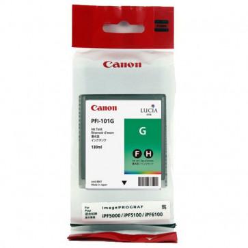 Originale Canon 0890B001AA Serbatoio inchiostro PFI-101G verde