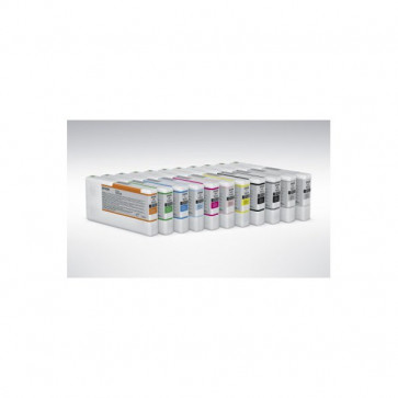 Originale Epson C13T653A00 Cartuccia inkjet ink pigmentato ULTRACHROME HDR T653A arancio