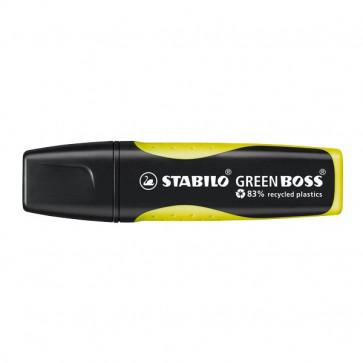 Evidenziatore Stabilo Green Boss giallo 2-5 mm 6070/24