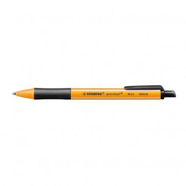 Penna a sfera a scatto Pointball Stabilo nero 1,2 mm 6030/46