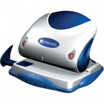 Perforatore Premium Rexel argento/blu 25 fogli 2100744