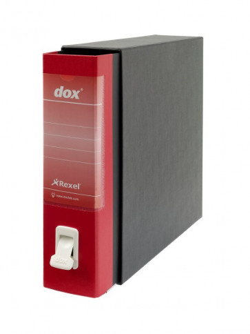 Registratori Dox 1 dorso 8 Commerciale rosso D26111