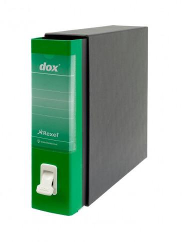 Registratori Dox 1 dorso 8 Commerciale verde D26114