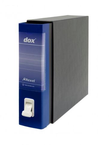 Registratori Dox 2 dorso 8 Protocollo blu D26204