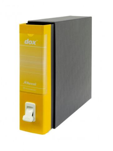Registratori Dox 2 dorso 8 Protocollo giallo D26206