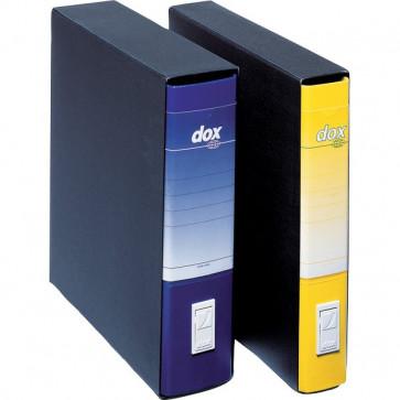 Registratori Dox 4 dorso 5 Commerciale giallo D26406