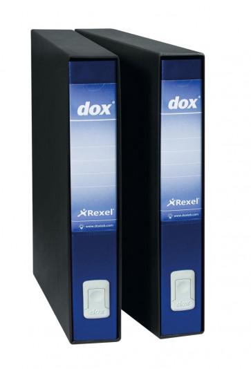 Registratori Dox 5 dorso 5 Protocollo blu D26504