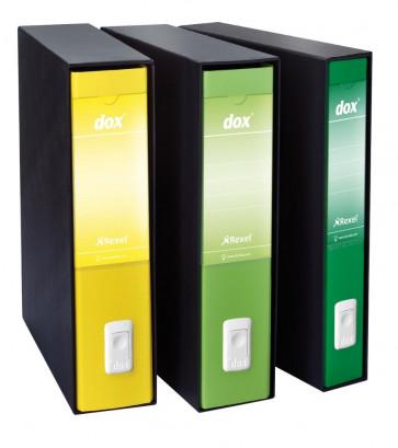 Registratori Dox 5 dorso 5 Protocollo giallo D26506