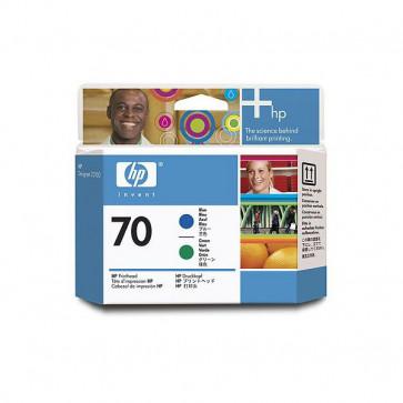 Originale HP C9408A Testina di stampa 70 blu +verde