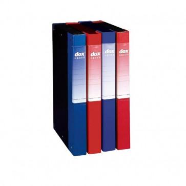 Cartellina Dox Order Dorso 4 24,5x34 cm blu 00274604