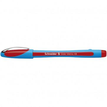 Penna a sfera Memo Schneider rosso P150202