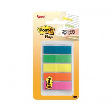 Post-it® Index Full Color 683 arancio, blu, giallo, verde, viola 683-HF5EU (conf.5)