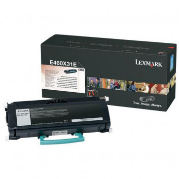 Originale Lexmark 0E460X31E Toner altissima resa return program Corporate Cartridges nero