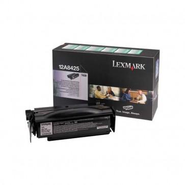 Originale Lexmark 12A8425 Toner alta resa return program nero