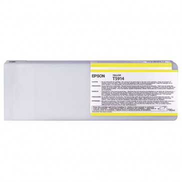 Originale Epson C13T591400 Cartuccia inkjet ink pigmentato ULTRACHROME K3 T5914 giallo