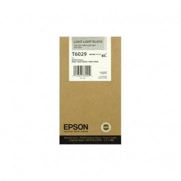 Originale Epson C13T602900 Cartuccia inkjet ink pigmentato ULTRACHROME K3 T6029 nero chiaro