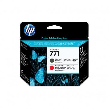 Originale HP CE017A Testina di stampa 771 nero opaco +rosso cromatico
