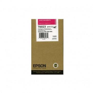 Originale Epson C13T602300 Cartuccia inkjet ink pigmentato ULTRACHROME K3 T6023 magenta