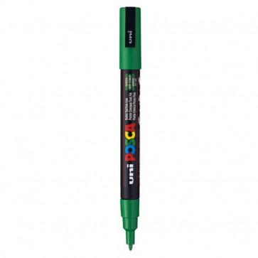 Marcatore Uni Posca a tempera Uni-Ball tonda 0,9-1,3 mm verde M PC3M V