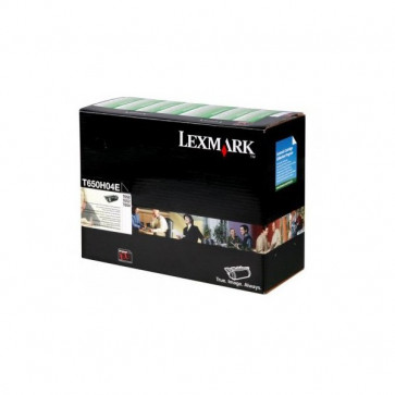 Originale Lexmark T650H04E Toner alta resa return program nero