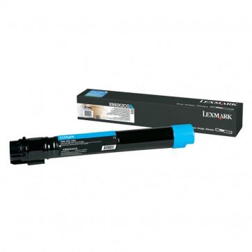 Originale Lexmark X950X2CG Toner altissima resa X950/2/4 ciano