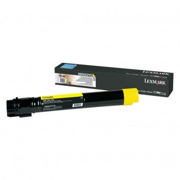 Originale Lexmark X950X2YG Toner altissima resa X950/2/4 giallo