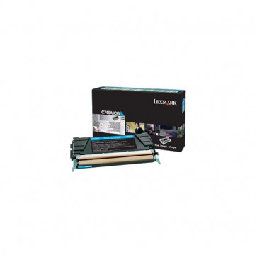 Originale Lexmark C746A1CG Toner return program C746, C748 ciano